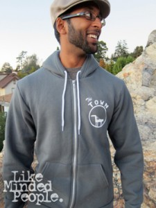 The Town zip-up hoodie